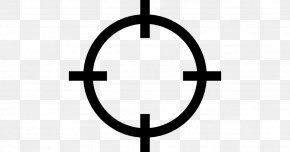 Reticle Icon - Vector Graphics Telescopic Sight Reticle Transparency PNG