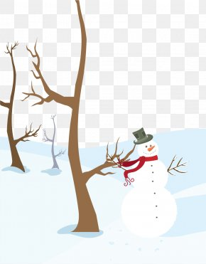 Vector Winter Snowman Painted - Download Android Application Package Google Play PNG