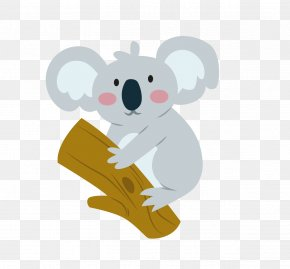 Koala - Koala Humour Quotation PNG
