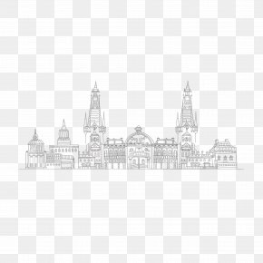 City Picture - Black And White Download Stock Photography Clip Art PNG