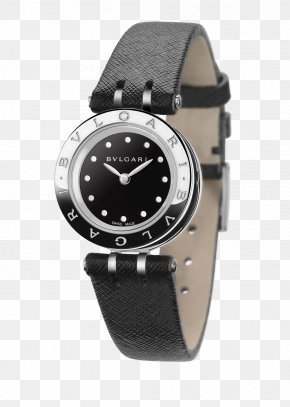 Bulgari Watches Black Watches Female Form - Bulgari Watch Jewellery Ring Size Sapphire PNG