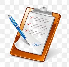 Checklist Clip Art - Clip Art Vector Graphics Clipboard Illustration Image PNG