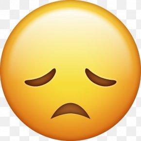Sad - Face With Tears Of Joy Emoji Sadness IPhone Emoticon PNG
