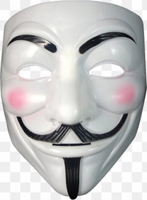Anonymous Mask - Guy Fawkes Mask Anonymous V PNG