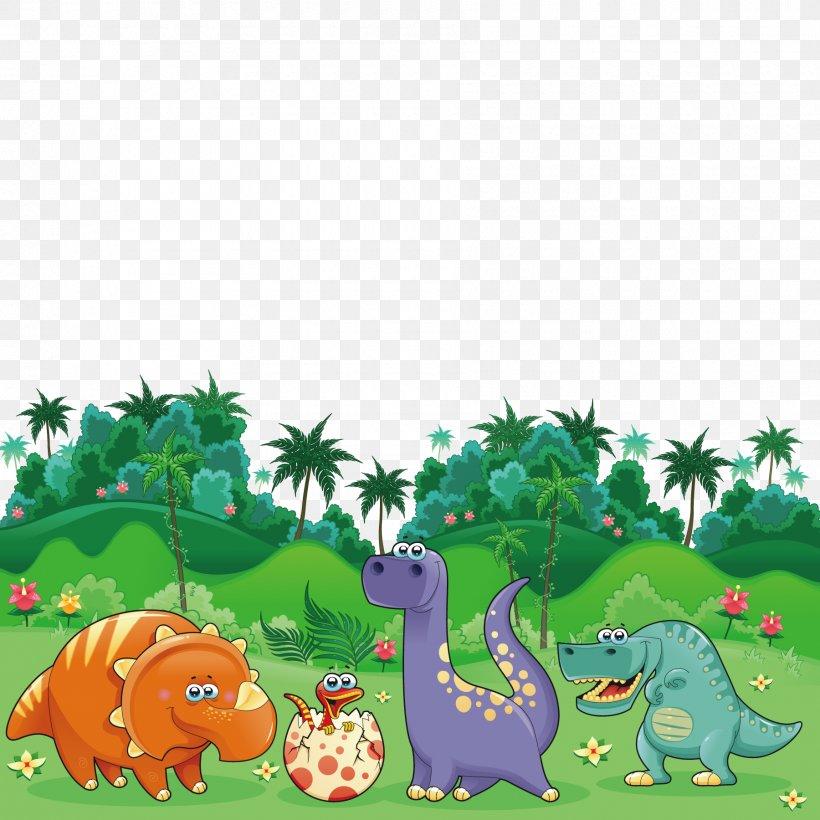 Triceratops Dinosaur Cartoon Illustration Png 1800x1800px Triceratops Art Cartoon Dinosaur Ecosystem Download Free