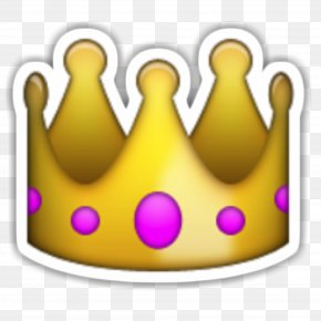 Emoji - Emoji Crown Sticker Desktop Wallpaper PNG