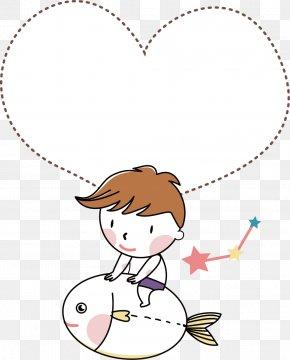 Boy Riding Exocet - Dialog Box Cartoon PNG