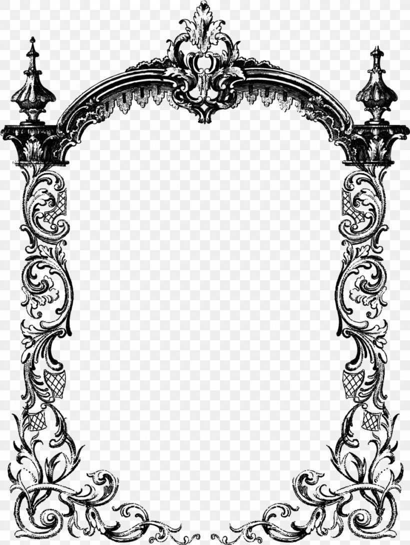 Borders And Frames Picture Frames 200 Victorian Fretwork Designs: Borders, Panels, Medallions And Other Patterns, PNG, 963x1280px, Borders And Frames, Architecture, Black And White, Body Jewelry, Decor Download Free