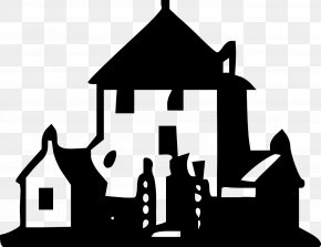 Halloween Clip Art Haunted House - Clip Art Openclipart Vector Graphics House Free Content PNG