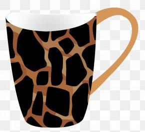 Cup - Coffee Cup Giraffe PNG