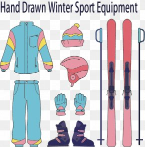 Warm Winter - Cross-country Skiing Ski Boot PNG