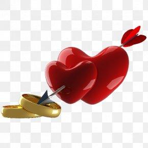 Border Picture - Heart 3D Computer Graphics Arrow Clip Art PNG