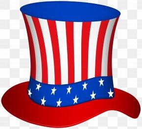 Uncle Sam Hat Transparent Clip Art Image - Uncle Sam United States Hat Clip Art PNG