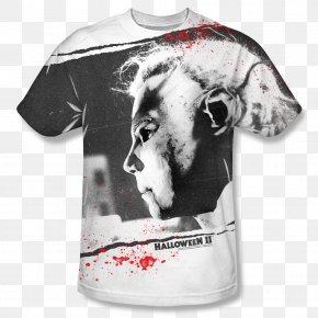 T-shirt - T-shirt Michael Myers Samuel Loomis Halloween Film Series PNG