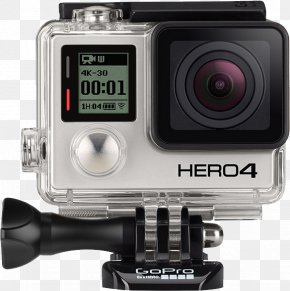 GoPro Camera - GoPro Hero2 Action Camera 4K Resolution PNG