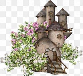 Cartoon Castle - House Fairy Building Clip Art PNG