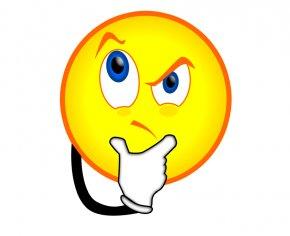 Confused Face Cartoon - Smiley Emoticon Face Clip Art PNG