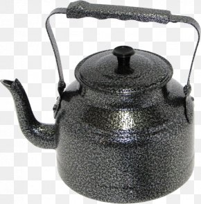 Kettle - Electric Kettle Teapot Metal PNG
