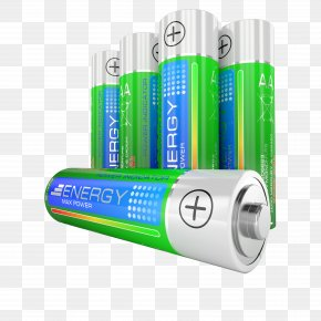 Green Battery - Battery Charger Dietary Supplement AA Battery Lithium-ion Battery PNG