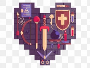 Painting Tools - Pixel Art Heart PNG