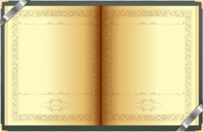 Yellow Book - Used Book Paper PNG
