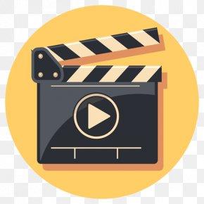 Film Set Cartoon - Video Filmmaking Clapperboard Vector Graphics PNG