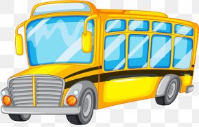 Yellow School Bus - School Bus Royalty-free Illustration PNG