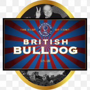 Flag - Bulldog Ale Logo Flag Font PNG