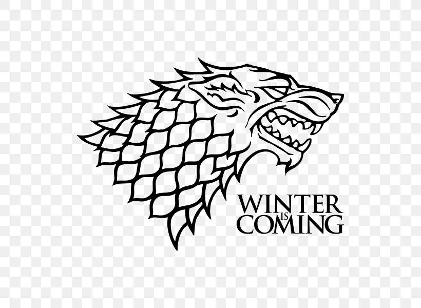 Jon Snow House Stark Winter Is Coming Decal House Targaryen, PNG, 570x600px, Jon Snow, Area, Art, Artwork, Black Download Free