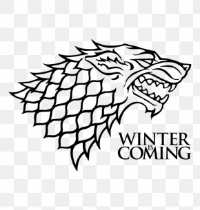 Game Of Trones - Jon Snow House Stark Winter Is Coming Decal House Targaryen PNG