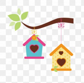 Bird House - Bird House Garden Clip Art PNG