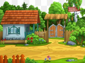 Cabin In The Woods - Landscape Photography Child Wallpaper PNG