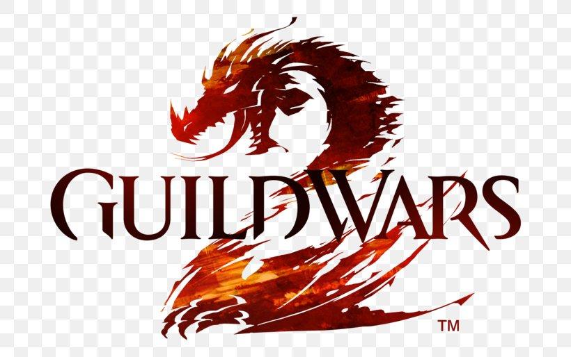 Guild Wars 2 Dragon Logo Desktop Wallpaper Video Games Png