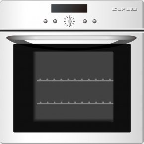 Vector Electric Oven Disinfection - Oven Kitchen Stove Home Appliance Furniture PNG