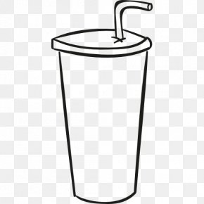 Cup - Fizzy Drinks Drinking Straw Cup Drawing PNG