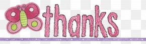 Thank You For Coming - Logo Brand Pink M Font PNG