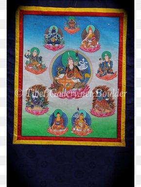 Thangka - Padmasambhava Oddiyana Standard Tibetan Thangka PNG