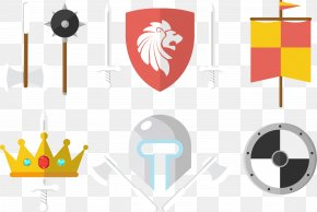 Vector Weapon - Knife Weapon Sword Warrior Shield PNG