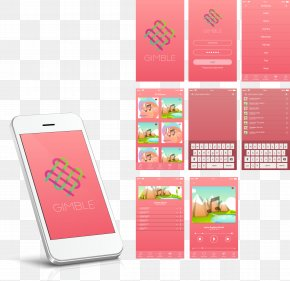 White Smartphone APP Introduction Layout Pictures - Feature Phone Smartphone Mobile App Mobile Phone PNG
