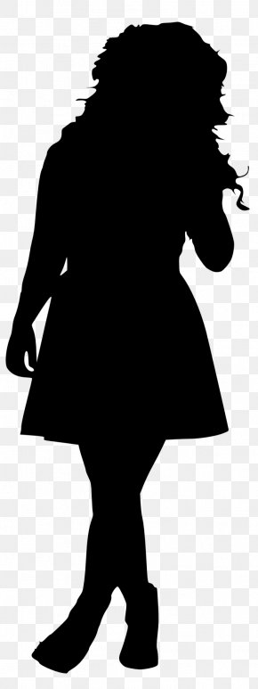 Silhouette - Silhouette Female PNG