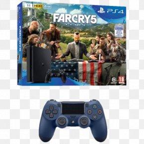 Slim - Sony PlayStation 4 Slim Far Cry 5 PlayStation VR PNG