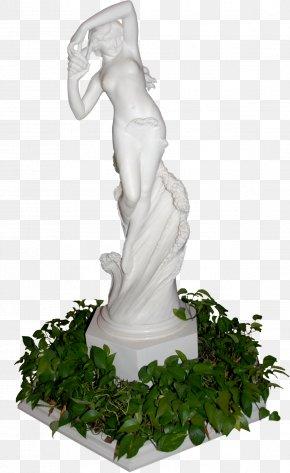 Stone Sculptures - Summer Garden Stone Sculpture Clip Art PNG