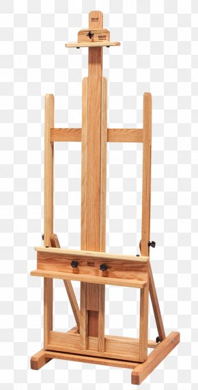 Painting - Easel Canvas Painting Studio Painter PNG
