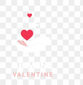 Red Love Valentine's Day Logo - Heart Red Pattern PNG