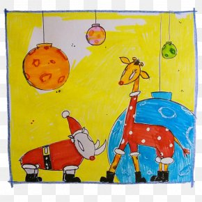 Painting - Painting Acrylic Paint Giraffe Drawing Visual Arts PNG
