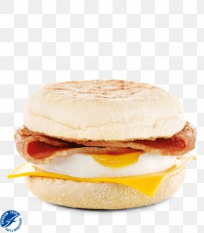 Bacon - Bacon, Egg And Cheese Sandwich English Muffin Cheeseburger Breakfast PNG