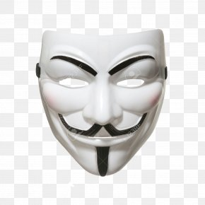 Mask - Guy Fawkes Mask V Gunpowder Plot Anonymous PNG