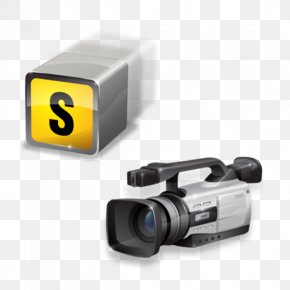 Camera Equipment And Accessories Icon - Camcorder Video Camera Icon PNG