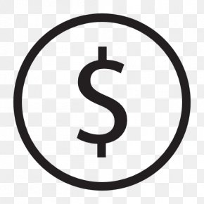 Dollar Sign - Dollar Sign Icon Currency Symbol United States Dollar PNG