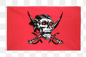 Flag - Jolly Roger Flag Piracy Fahne Banner PNG